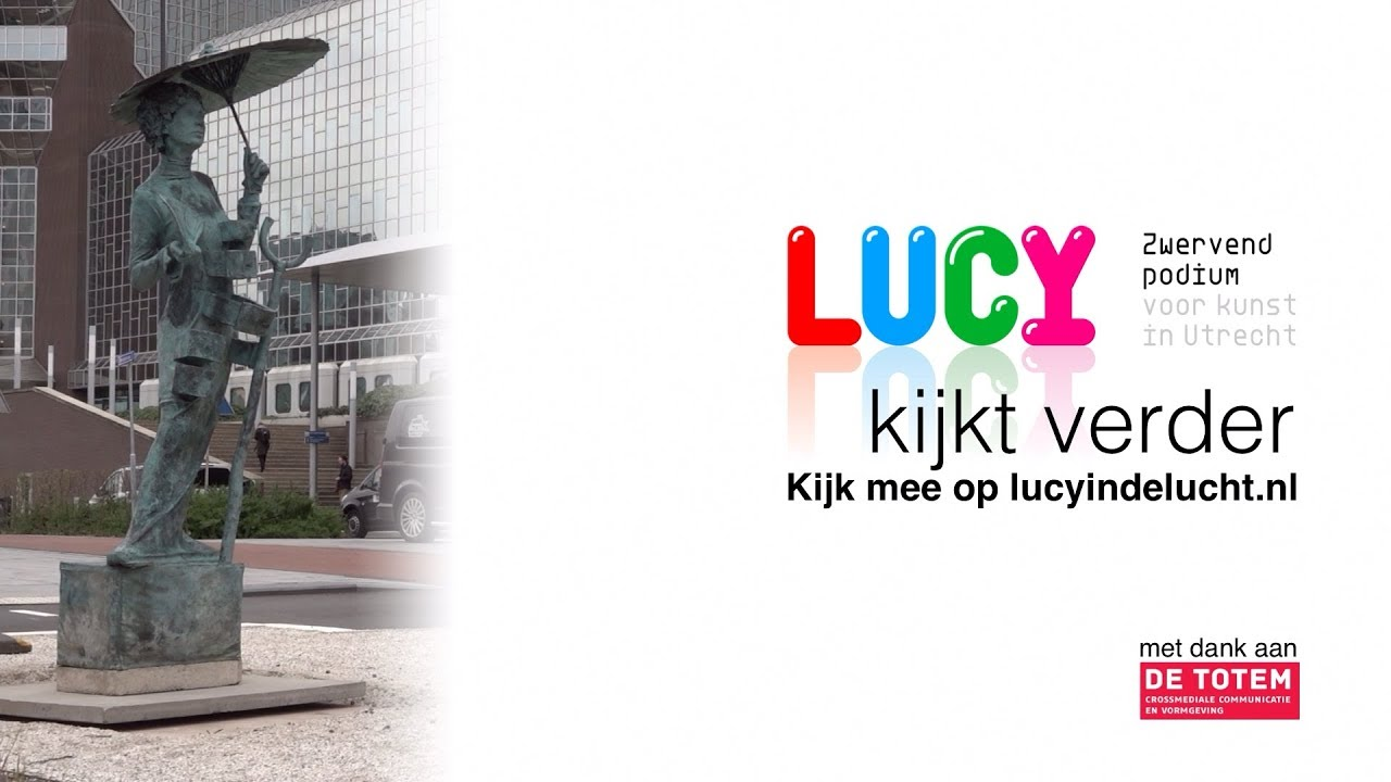 Screen Lucy in de lucht