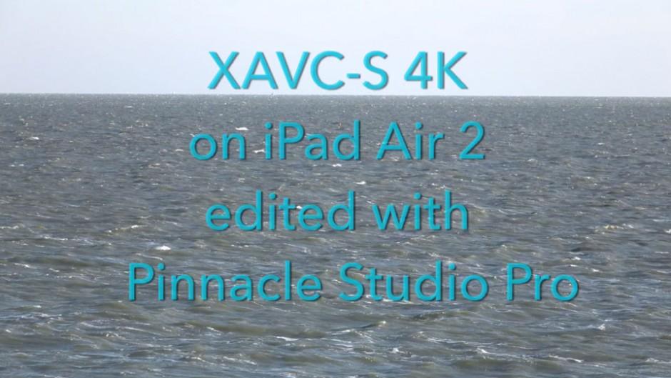 XAVC-S iPad is nu mogelijk