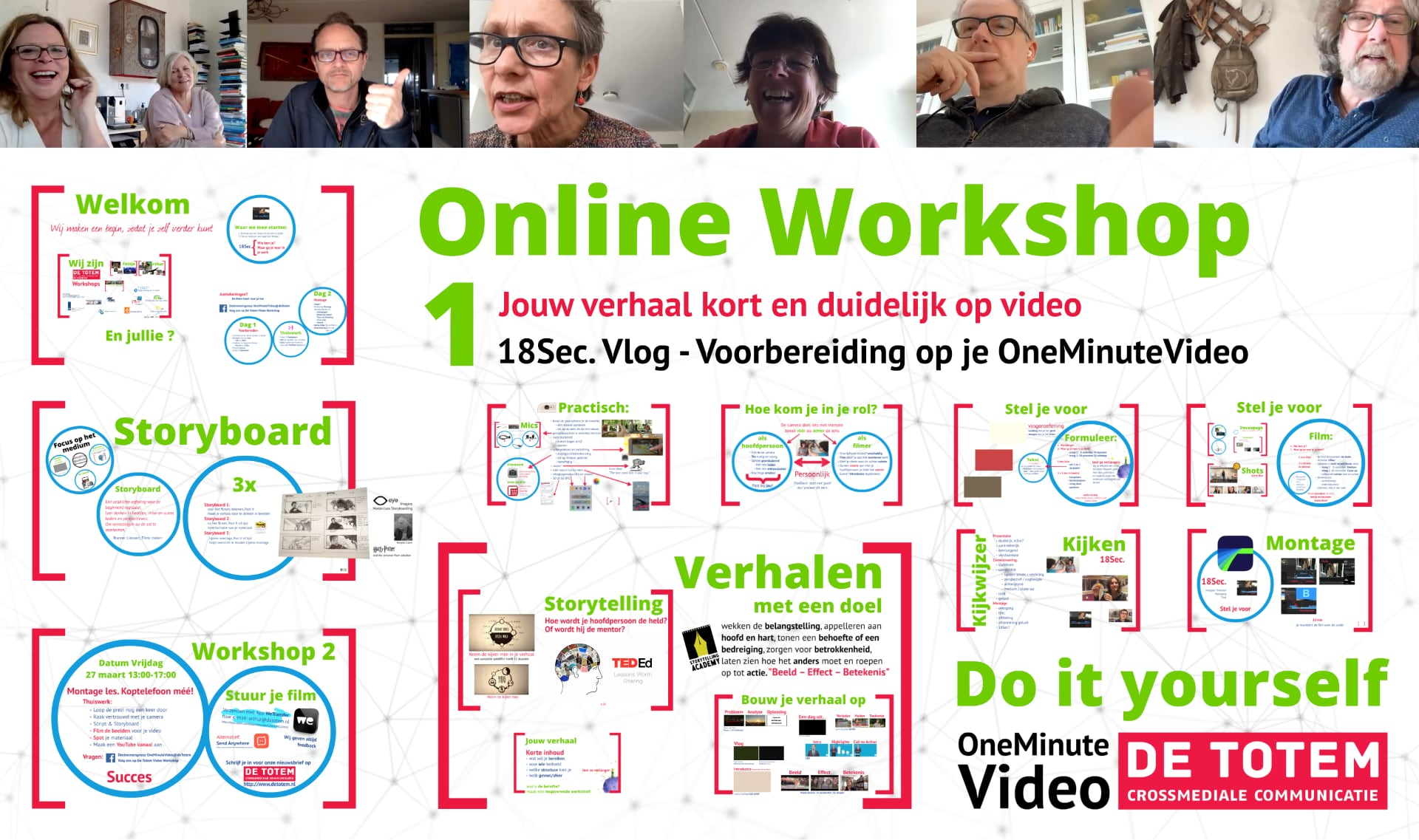 Online video workshops