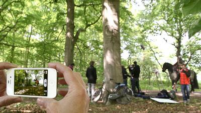 Workshop-iPhone-Bos-voor-home De Totem