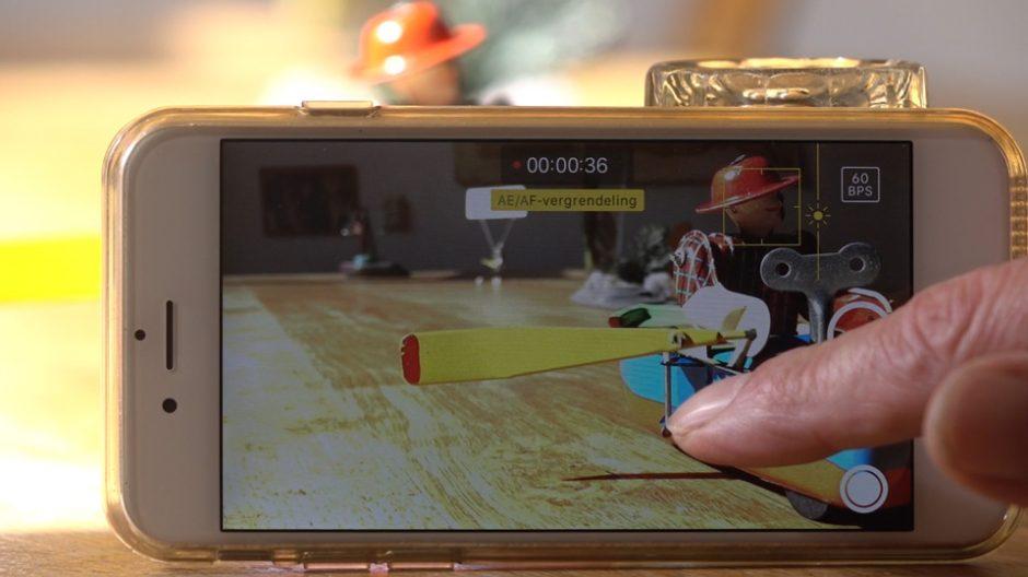 iphone video scherpstellen