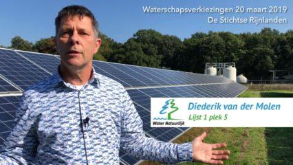 Diederik van der Molen Water Natuurlijk Video voor waterschapsverkiezingen