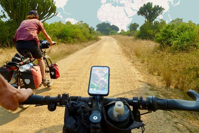 Filmen en navigeren met de smartphone